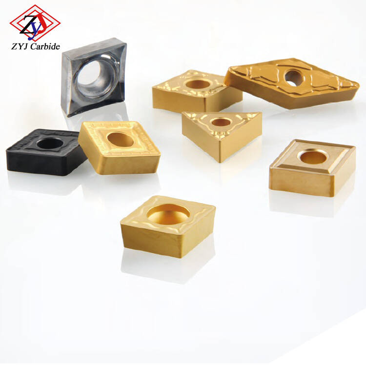 Tool Parts CNMG Indexable Tungsten Carbide Inserts