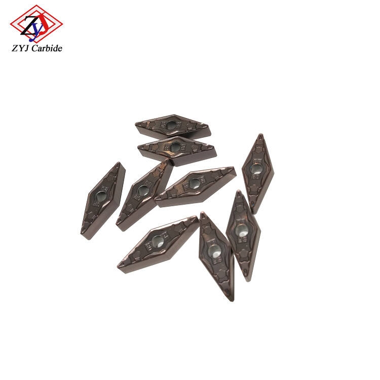 VNMG120408 Tungsten Carbide Turning Inserts for Machining